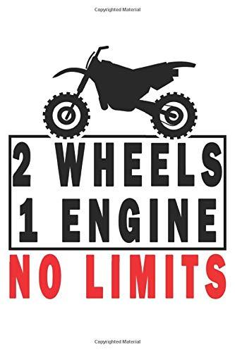 2 Wheels - 1 Engine - No Limits: Biker Bike Motorcycle Motor