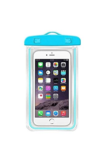 Generic Universal Waterproof Case | Phone Pouch for Swimming | Hiking | Biking | Underwater Photography | Rain | Fits Upto 6.5 Inch Mobiles.