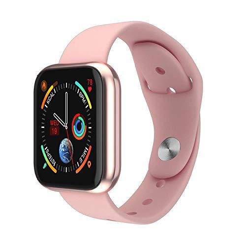 Women Smart Watch Waterproof Pressure Monitoring Pedometer Men Women Smartwatch Suitable for Android Apple iPhone, pink