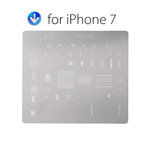 RAQ DIYFIX Telefoon Logica Board Reparatie Tool voor iPhone 7 6s 6 5s 5 Moederbord IC Chip Bal Solderen Net RVS Plaat For Iphone 7