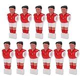 Voluxe Mini muñeca plástica humanoide de la máquina de la tabla de fútbol, mini muñeca plástica 11pcs para los niños para los juegos de futbolín