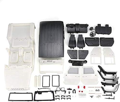 Mihommego en Plastique Dur voiturerosserie Shell 313mm EmpatteHommest pour Axial SCX10 Rc4wd D90 sur chenilles