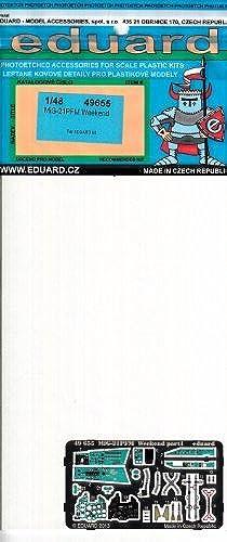 compra limitada EDU49655 1 48 Eduard Color PE - - - MiG-21PFM Fishbed Weekend Detail Set (for use with the Eduard kit) MODEL KIT ACCESSORY by Eduard  Mercancía de alta calidad y servicio conveniente y honesto.