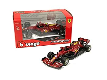 Bburago Model Car Sport 1 43 2020 Ferrari Racing SF1000 Formula One F1 #16 Charles Leclerc