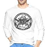 ブルームン Tシャツ 長袖 Babymetal トレーナー シャツ 上着 ファッション カットソー L White 綿 メンズ レディース