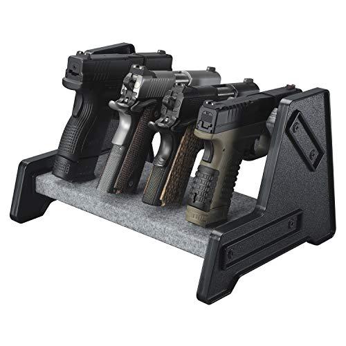 Mind and Action Deluxe Gun Rack for Pistol/Handgun Safe Storage Accessories (4 Gun Holders)