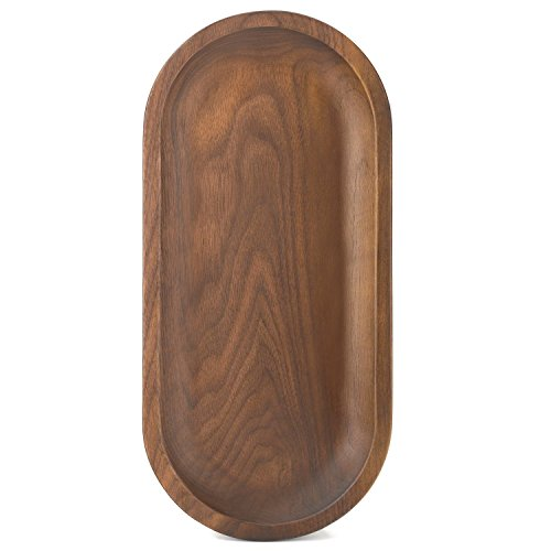 Bamber Wood Tray, Black Walnut