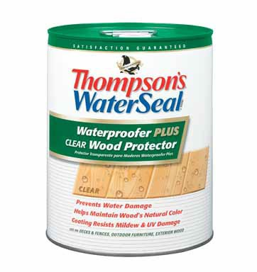 Thompson's WaterSeal 5-gal. Clear Waterproofing Wood Protector