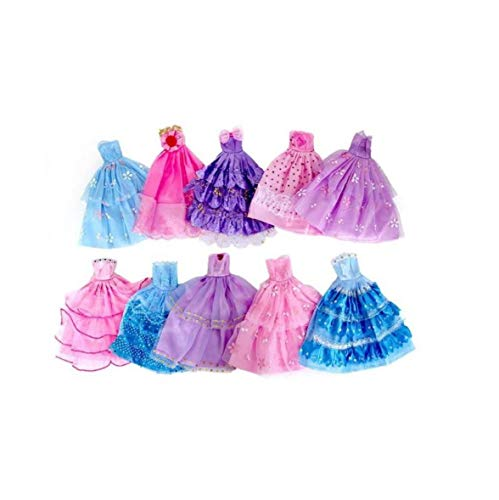 WFIT La Ropa del Banquete De Boda De Barbie Ropa Hecha a...