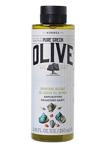 Korres OLIVE & SEA SALT Duschgel, 1er Pack (1 x 250 ml)