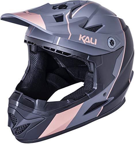 Kali Zoka Stripe Helm Jugend matt Black/Bronze Kopfumfang M | 50-52cm 2021 Fahrradhelm