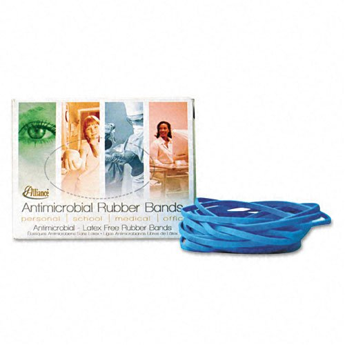ALL42199 - Alliance Rubber 42199 Non-Latex Rubber Bands with Antimicrobial Protection - Size #19