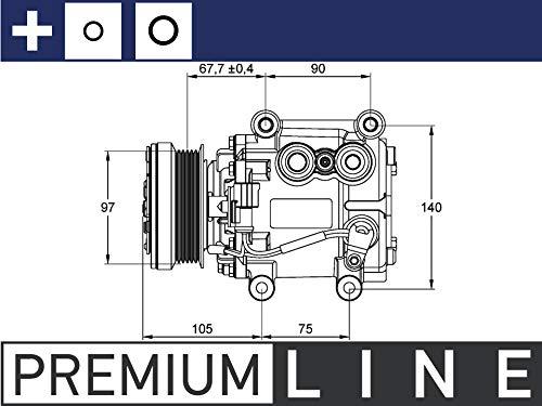 MAHLE ACP 1113 000P A/C-Kompressor PREMIUM LINE