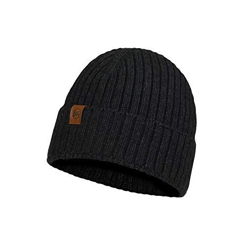 Original Buff Knitted Hat N-Helle Graphite Mütze, Unisex, Erwachsene, Mehrfarbig, Einheitsgröße