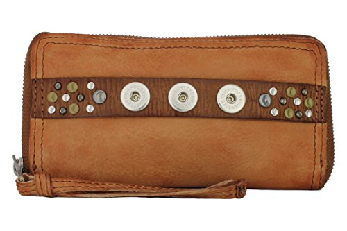 NOOSA Amsterdam CLASSIC WALLET midbrown ohne Chunks