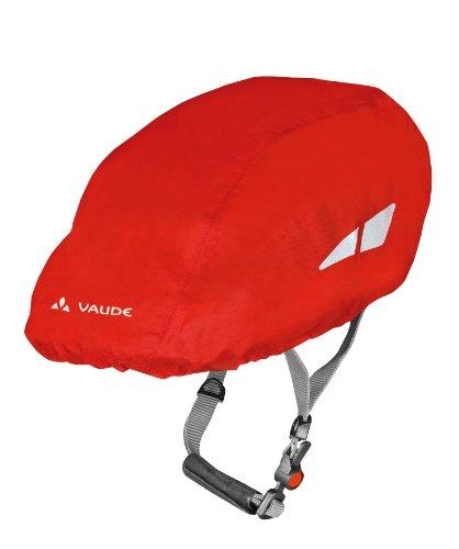 VAUDE Helmregenüberzug Helmet Raincover, Red, One size, 04300