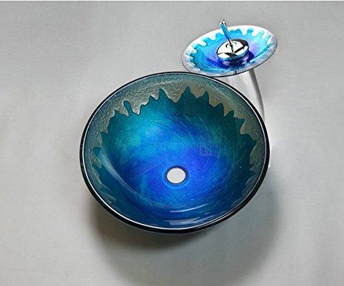 Gowe Nouveau Design moderne de salle de bain Vasque Robinets mélangeurs et robinets lavabo Mélangeur robinet Toilettes robinet Verre Lavabo Robinet
