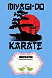 Retro Vintage Miyagi-do Karate Life Bonsai Tree Martial Arts J6 Notebook: 120 Wide Lined Pages - 6' x 9' - College Ruled Journal Book, Planner, Diary for Women, Men, Teens, and Children