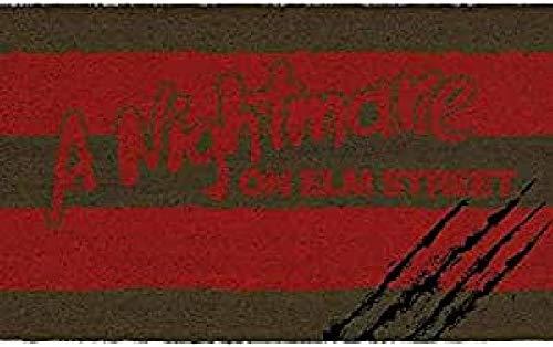 Pyramid Felpudo Scratches Doormat A Nightmare On ELM Street Official Merchandising Referencia DD Textiles del hogar Unisex Adulto, Multicolor (Multicolor), única