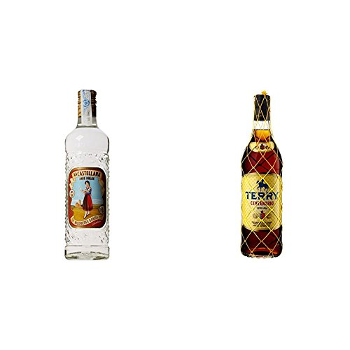 Anis La Castellana - Anis Dulce Castellana 35% Botella De De 70 cl + Brandy - Terry Centenario, 1 L