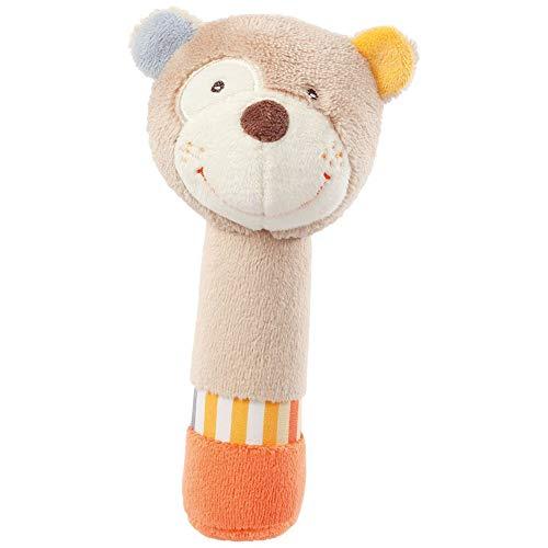 1Pc Hand Rattle Sticks Karikatur-Bären-Baby-weiche Plüsch-Hand Rattle Quietschten Sticks für Kleinkinder Hand Grasp Baby-Rasseln Spielzeug