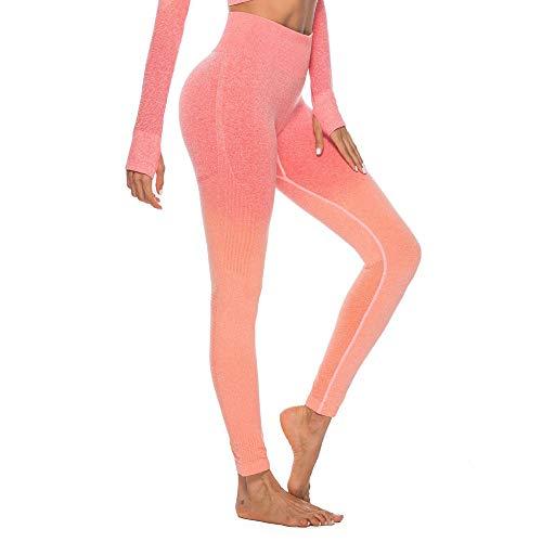 Felicove Damen Sport Leggings, Drucken Leggings Damen Fitness-Sporthose Gym Yoga Athletische Hosen Winterleggings Thermoleggings Workout Trainingshose Damen Sport Yogahose