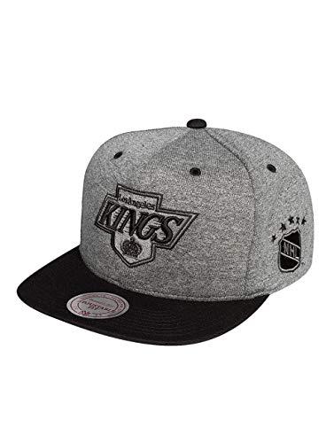 Mitchell & Ness Herren Caps / Snapback Cap Broad LA Kings grau Verstellbar