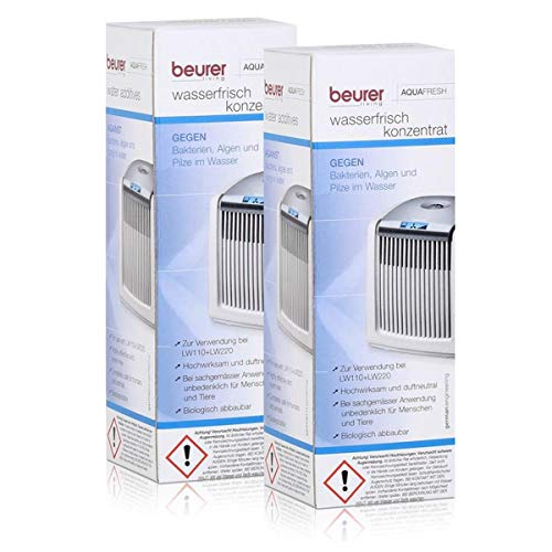 2x Beurer Aquafresh Wasserfrisch Konzentrat 200ml