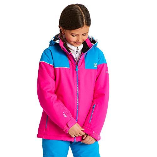 Dare 2b Kinderen Entail Waterdicht en Ademend Hoge Loft Geïsoleerde Opklapbare Hooded Ski en Snowboard Jas Met Sneeuwrok en Reflecterende Detail