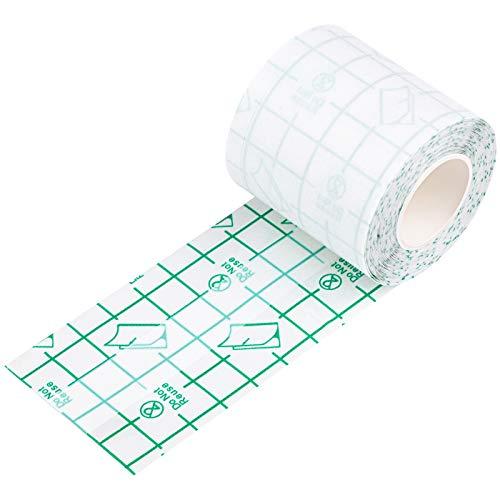 URATOT Waterproof Transparent Stretch Adhesive Bandage Clear Adhesive...