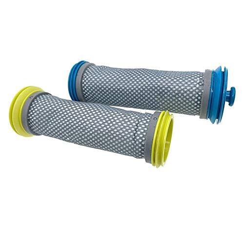TangMengYun Pièces d'Aspirateur Robot Compatible avec Tineco A10 A11 Pure One S12 Aspirateur Accessoires DE Filtre Moteur Filtres de Remplacement Bleu Jaune Filtre (Color : White)