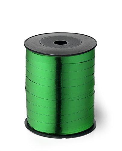 Brizzolari Rouleau de Ruban de Noël Vert Brillant 10 mm x 250 m