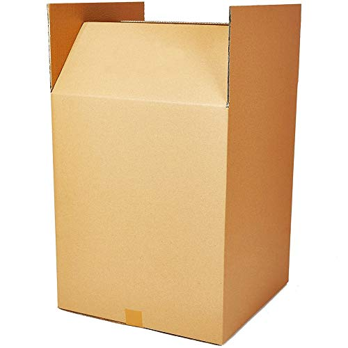 Pack of 5 X-Large Sturdy Double Wall Home Removal Moving Giant Cardboard Boxes - 762mm x 508mm x 508mm / 30' x 20' x 20'