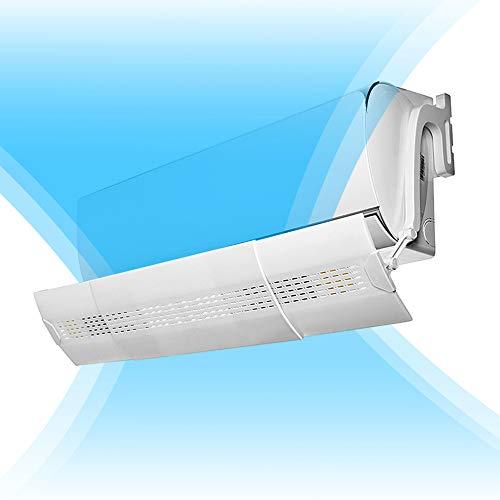 Deflector para aire acondicionado 180 grados
