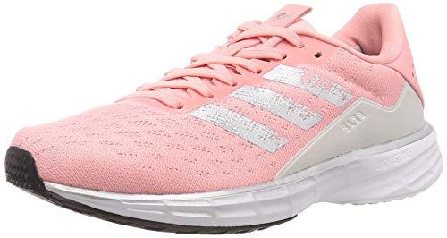 adidas Damen Sl20 W Laufschuhe, Glory Pink/Silver Met./Grey One F17, 41 1/3 EU