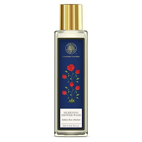 Forest Essentials Indian Rose Absolute Silkening Shower Wash, 200ml