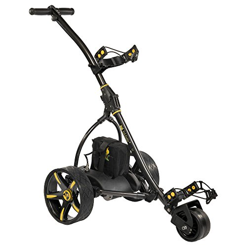Bat Caddy X3R Remote Electric Golf Trolley - Black - Lithium Battery