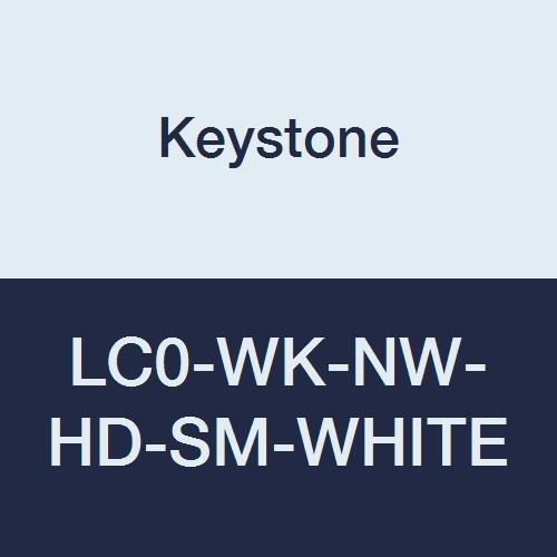 Keystone LC0-WK-NW-HD-SM-WHITE Heavy Duty OFFicial shop Overseas parallel import regular item Polypropylene Lab Coat