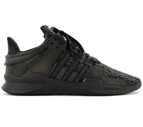 adidas Unisex Adults' EQT Support Adv Fitness Shoes, Black (Negbas/Negbas/Versub 000), 4.5 UK