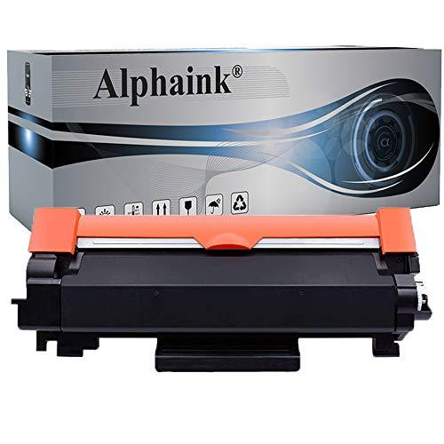 Toner Alphaink compatibile con Brother TN2420-BK per stampanti Brother HL-L2350DW MFC-L2710DW DCP-L2510D DCP-L2530DW HL-L2375DW HL-L2370DN L2310D MFC-L2730DW (nero-senza chip)