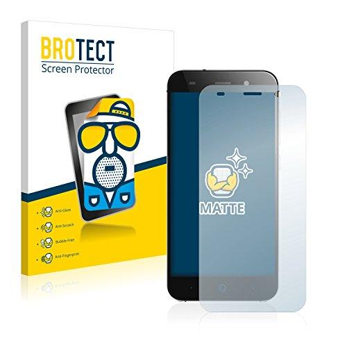 BROTECT 2X Entspiegelungs-Schutzfolie kompatibel mit ZTE Blade L6 Bildschirmschutz-Folie Matt, Anti-Reflex, Anti-Fingerprint