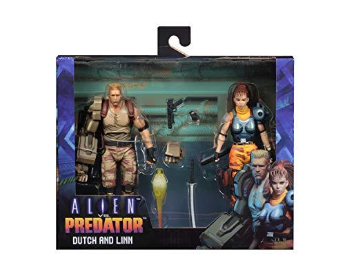 NECA Figura Dutch & Linn 18 cm. Alien vs. Predator 1994