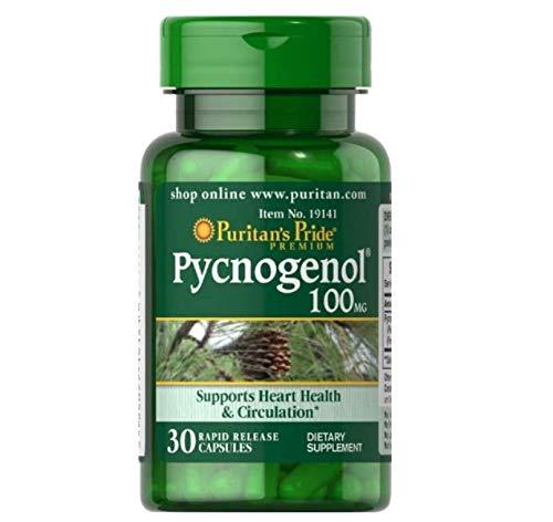 Puritans Pride Pycnogenol 100 Mg, 30 Count