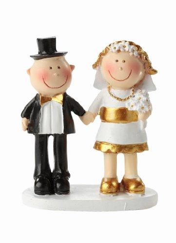 Goldhochzeitspaar * Goldene Hochzeit * Tortendekoration * Tortenfigur * Tischdekoration