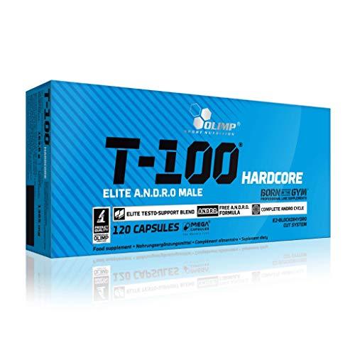 2 x Olimp T-100 Hardcore, 120 Kapseln (2er Pack)