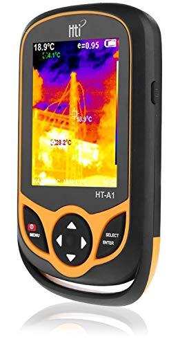 熱画像カメラ、3.2インチフルアングルTFTディスプレイ付きポータブル赤外線カメラ、赤外線画像解像度220 x 160温度測定範囲-4°F〜572°F、ポケットサイズのIR熱画像装置、HT-A1