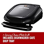 George-Foreman-GR0040B-2-Serving-Classic-Plate-Grill-Black