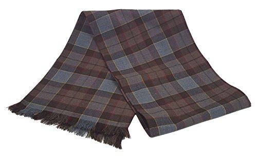 OUTLANDER Scarf Authentic Premium Wool Tartan (Fraser)