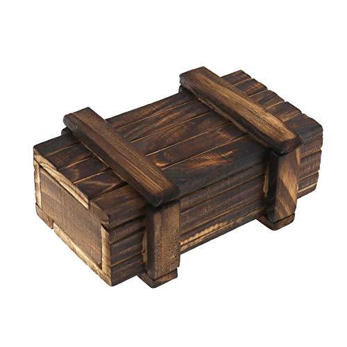 EmSea   Caja mágica secreta Puzzle cajón, seguridad, regalo para niños adultos, 4 x 2,5 x 1,7 pulgadas