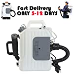 iPihsius ULV Cold Fogger Machine, 2 Pack Backpack Disinfectant Machine Capacity 2.64US GAL, 26.3ft-39.4ft Spray Distance, 110v, 1400w